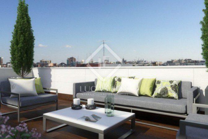 Apartmentos con terraza en madrid lucas fox for Donde queda terrazas
