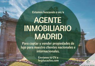 Oferta Agente Inmobiliario Madrid