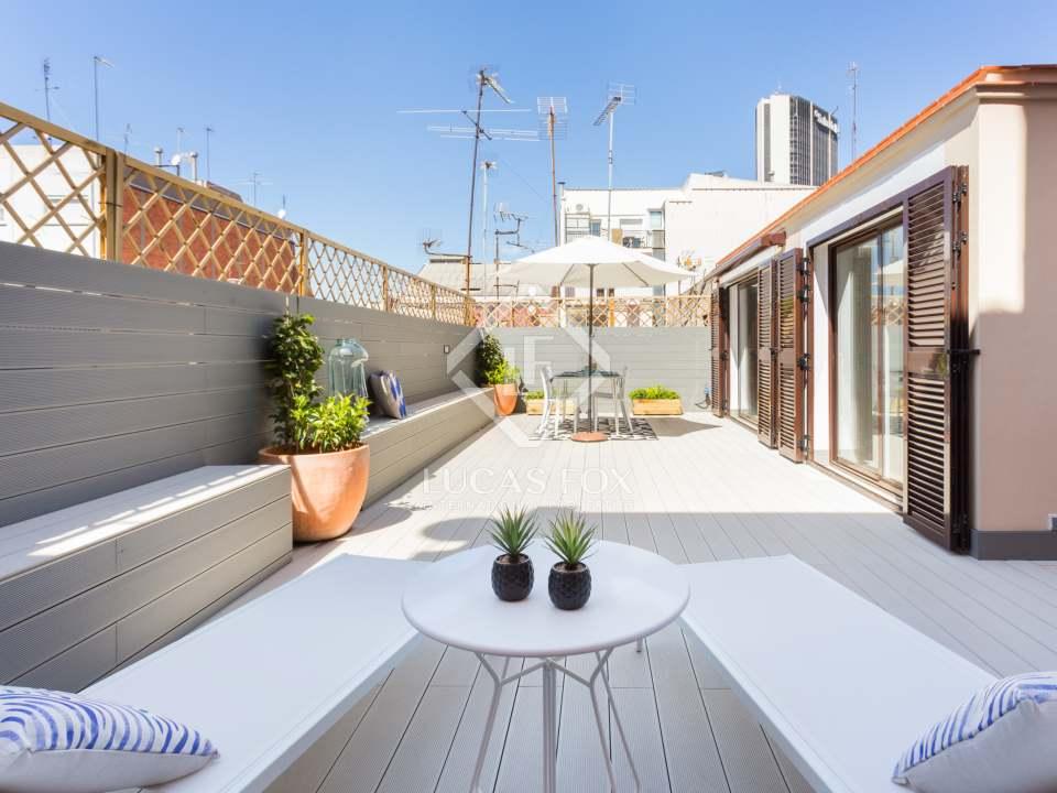 ático con terraza- áticos de lujo