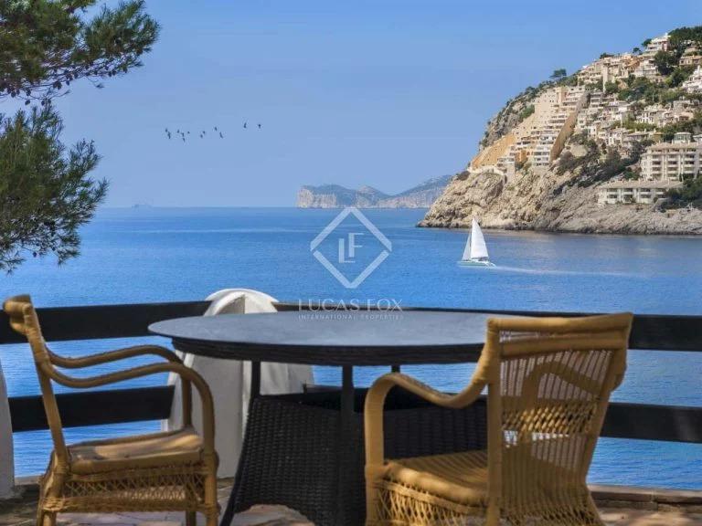 Tremendas vistas desde la terraza en Mallorca