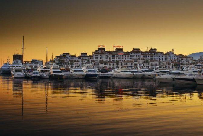 Puerto Banús, uno de los puertos más importantes de Marbella