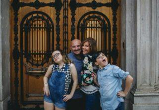imagen de la familia felly en Barcelona