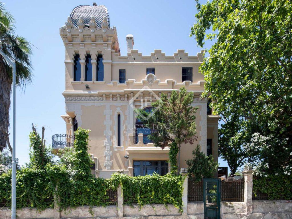 Castillo palacete- castillos en venta en España
