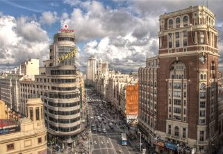 Centro de Madrid- Millenials internacionales