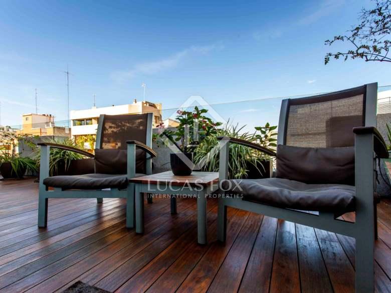mejores viviendas en Valencia- ático atractivo en El Pla del Remei