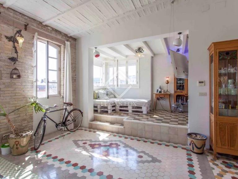 ático viviendas en venta en Valencia