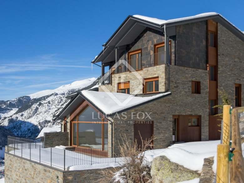 chalets de esquí - and10901